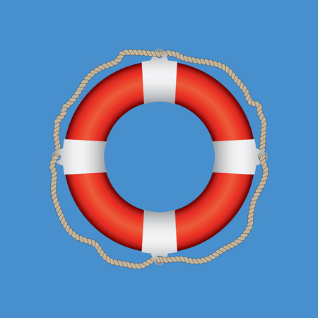 Lifebuoy Life Belt Illustration 向量圖像
