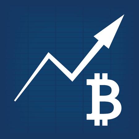 Bitcoin Growth Increase Graph