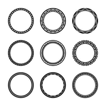 Round Circle Frame Icons