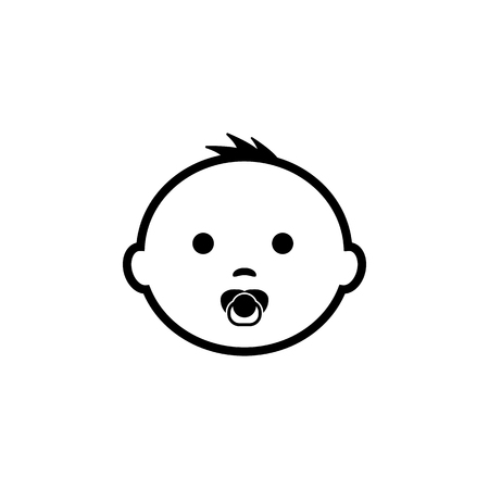 Baby Icon Vector illustration.