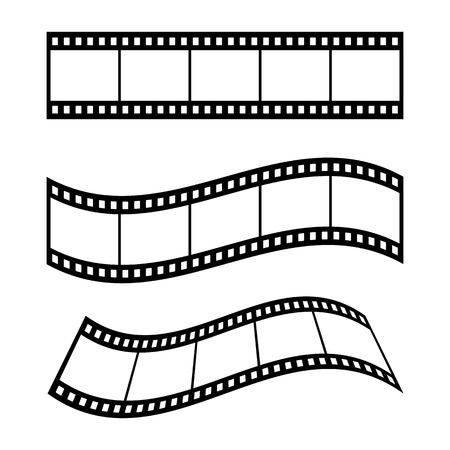 Film Strip Frame Blank Illustration - Vector 版權商用圖片 - 119106182