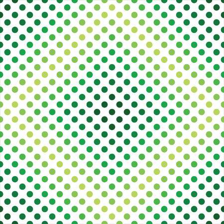 Green Light Dark Dots Seamless Pattern Background 向量圖像