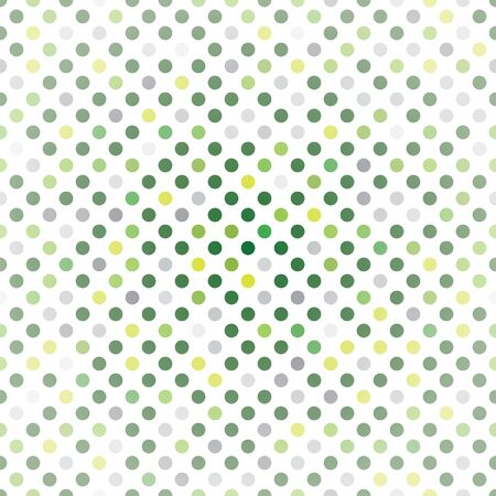 Green Dots Background Seamless Pattern