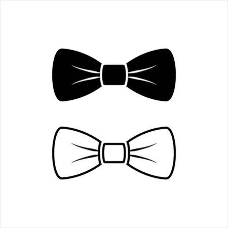 Bow Tie Vector Icon Symbol