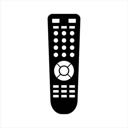 TV Remote Control Vector Icon