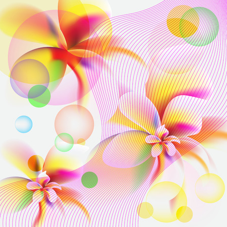 Plumeria flowers. Seamless watercolor background.