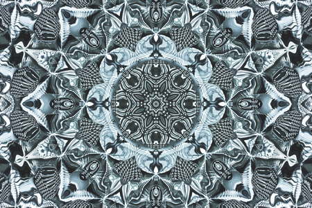 background kaleidoscope: Computer generated illustration with  abstract kaleidoscopic pattern.
