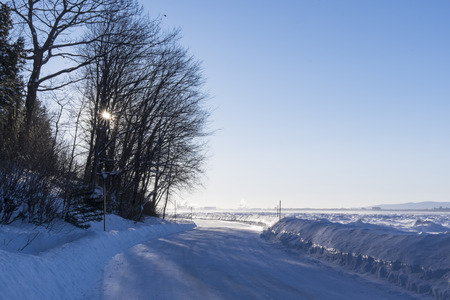 winter road: Winter road