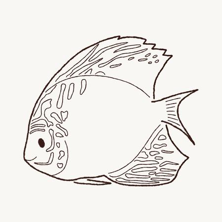 discus: Discus Fish Cartoon Art