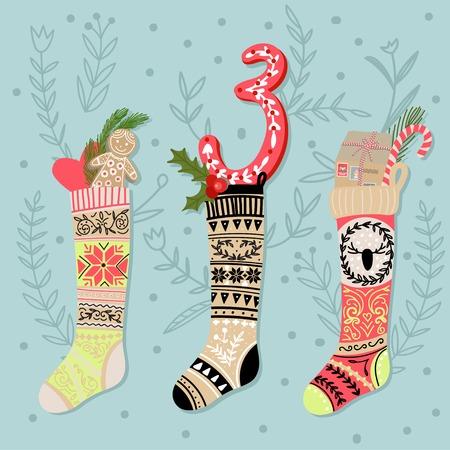 크리스마스 포스터입니다. 귀여운 화려한 크리스마스 강림절 달력입니다. 크리스마스 3 카운트 다운