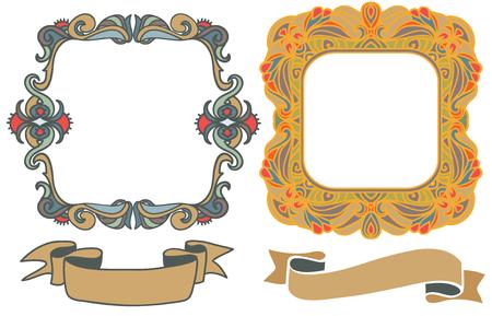 marcos decorativos: marcos decorativos dibujados a mano