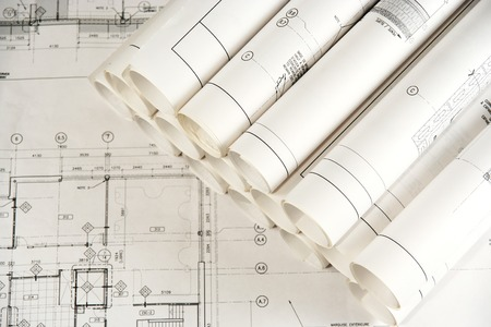 Engineering and Architecture Drawings 2 Stock Photo - 1576120