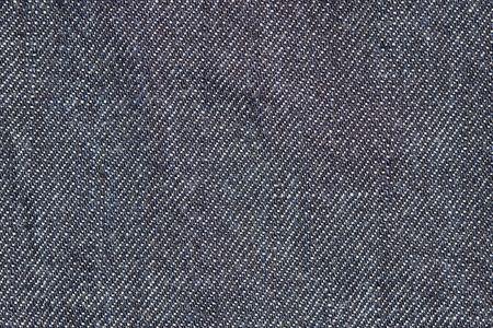 Macro opname van een blauwe jeans textiel, kan worden gebruikt als achtergrond