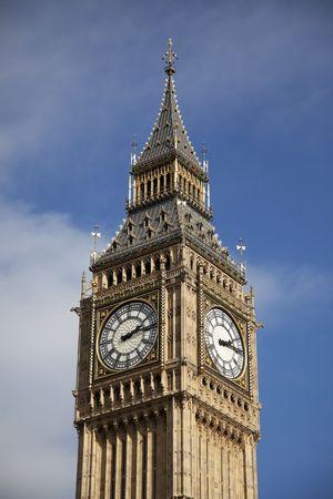 Close-up van de Big Ben toren in Londen