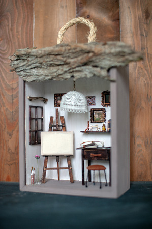Handmade Dollhouse Interior