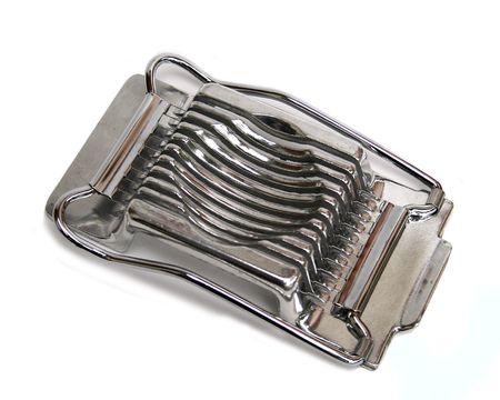 slicer: Retro stainless steel egg slicer