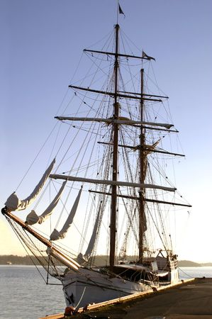 Tall ship in the Oslo Fjord photo