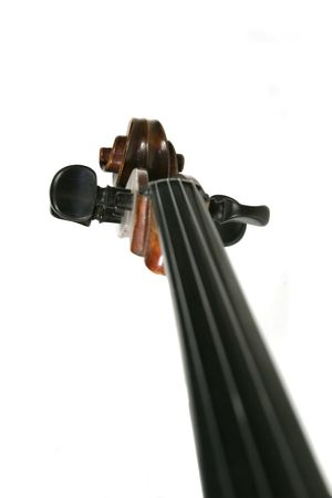 An abstract image of a cello scroll photo