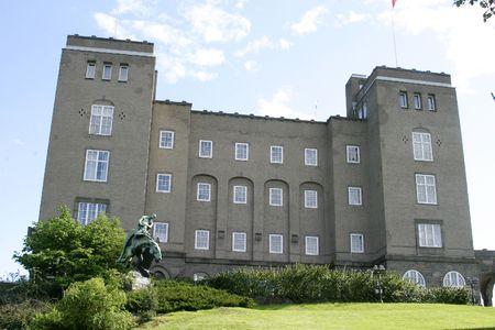Sj�mannskolen in Oslo Norway, now used as a business school (BI Handelsh�yskolen) photo