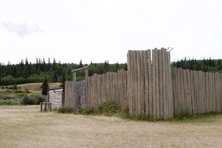 provincial: Fort at cypruss hills provincial park