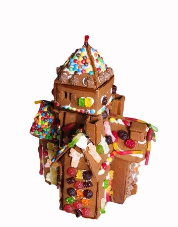 Ginger bread house detail. photo
