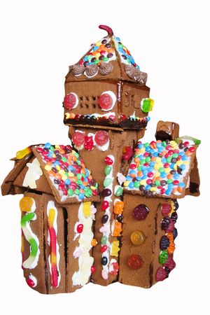 Ginger bread house detail. photo