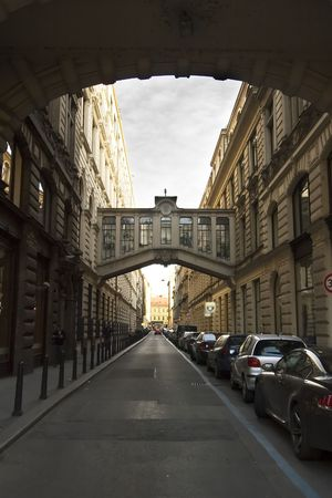 Nekazanka Street in Prague, Czech Republic. Stock Photo - 378823