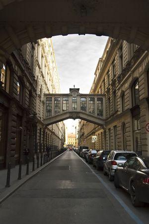 Nekazanka Street in Prague, Czech Republic. Stock Photo - 378823