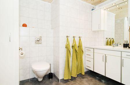ritzy: An interior of a modern nice bathroom Stock Photo