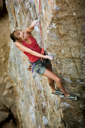 Rock Climbing Stock Photo - 1543497