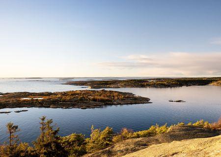 fredrikstad: Coastal Landsacpe Stock Photo