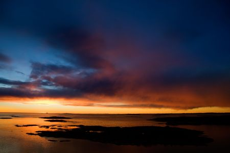 fredrikstad: Beautiful coastal Landsacpe on the very outside of the Oslo Fjord near Fredrikstad, Norway.