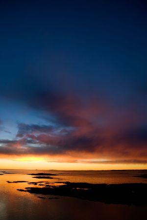 Beautiful coastal Landsacpe on the very outside of the Oslo Fjord near Fredrikstad, Norway. Stock Photo - 2348561