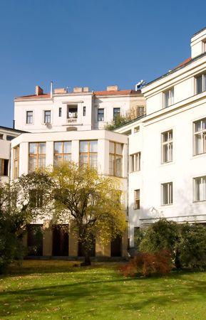 oldest: Vojanovy Sady park in Prague, Czech Republuc.