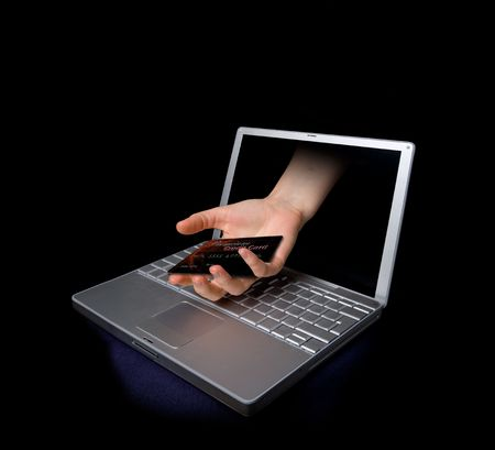 najechać: Karta kredytowa kradzież rÄ™cznie przez internet.  Karta kredytowa jest fikcyjnÄ….