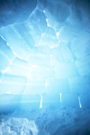 esquimal: Un igl� Interior imagen de fondo