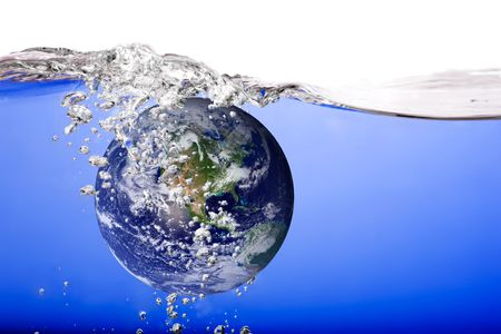 the carbonation: The world drowning in water and bubbles