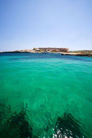 holiday destination: Holiday destination in malta Stock Photo
