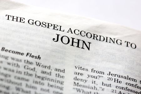 gospel: The Gospel According to John in the Christian New Testament Bible