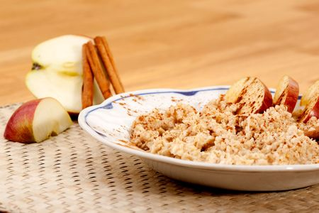 Apple Cinnamon Porridge photo