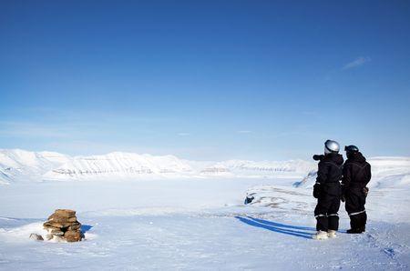 spitsbergen: A winter wilderness adventure guide.  Spitsbergen, Svalbard, Norway