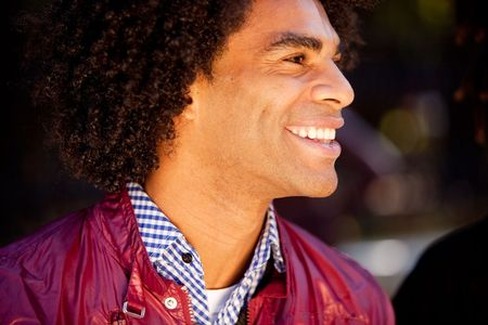 A candid portrait of a happy young man Stock Photo - 5971826