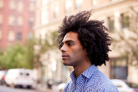 A portrait of a male in an urban setting Stock Photo - 5981897