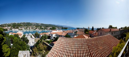 Rab Croatia Panorama photo