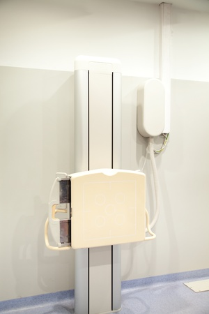 Detail of X-ray equipment at a hospital Stock Photo - 9359232