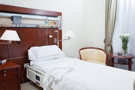 Neat and tidy hospital room Stock Photo - 10127248