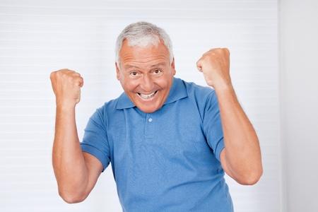 Portrait of cheerful senior man Stock Photo - 11702385