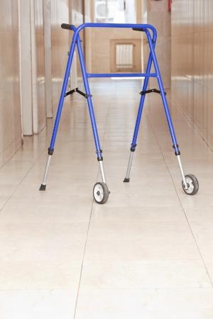adjustable: Adjustable folding walker for elderly at hospital