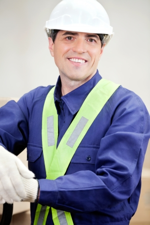 Portrait Of Confident Foreman photo