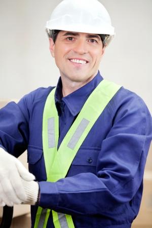 Portrait Of Confident Foreman Stock Photo - 16470543